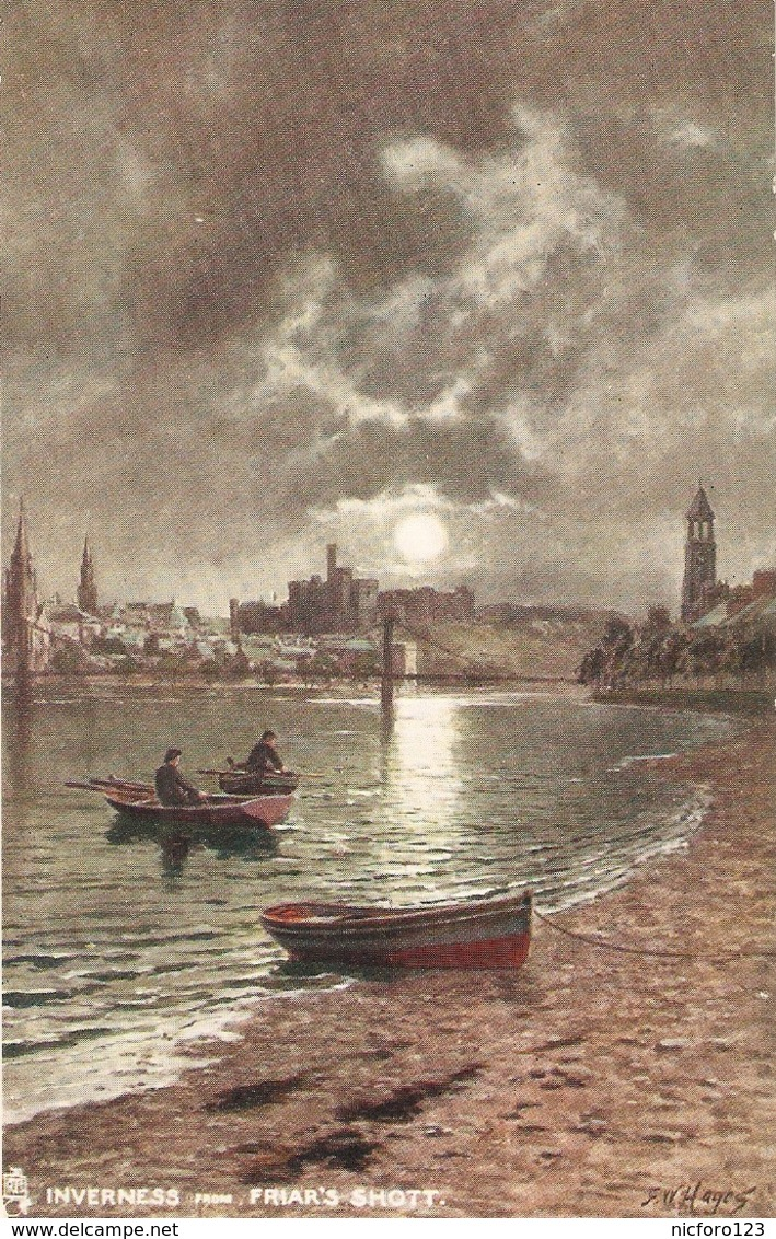 "F.W.Hayes, Inverness. Friar's Shott"" Tuck Oilette PC # 7187 - Tuck, Raphael"