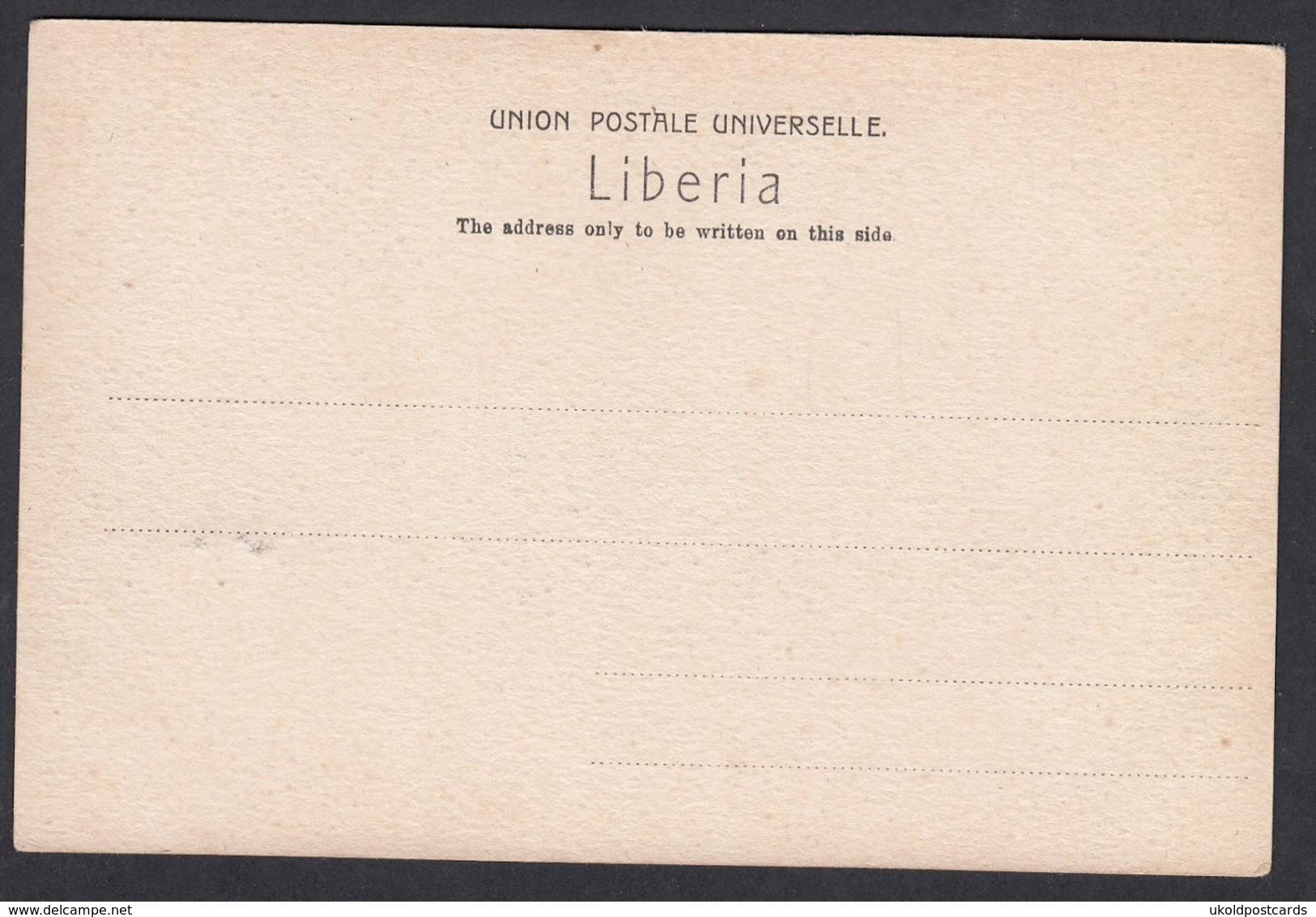 CPA -  LIBERIA, Grand Cap Mount, Mahfa River - Liberia