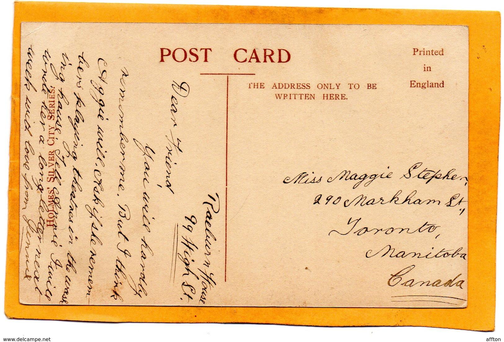 Fraserburgh UK 1907 Postcard - Aberdeenshire
