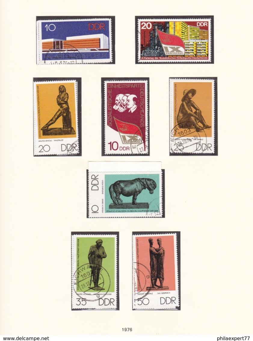 DDR - 1976 - Sammlung - Gest. - DDR
