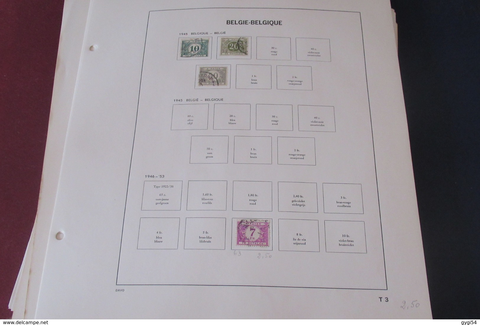 Belgique Toutes  Epoques  Tous Etats   65 Scans - Collections (sans Albums)