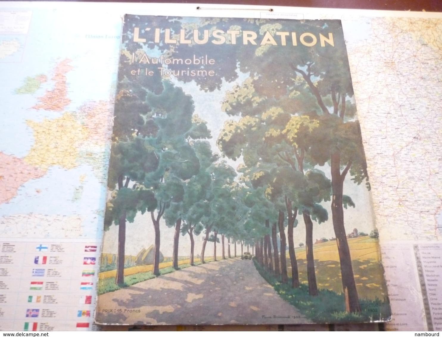 L'Illustration 'Automobile Et Le Tourisme Numéro Du Salon De L'auto 1932 - Boeken, Tijdschriften, Stripverhalen