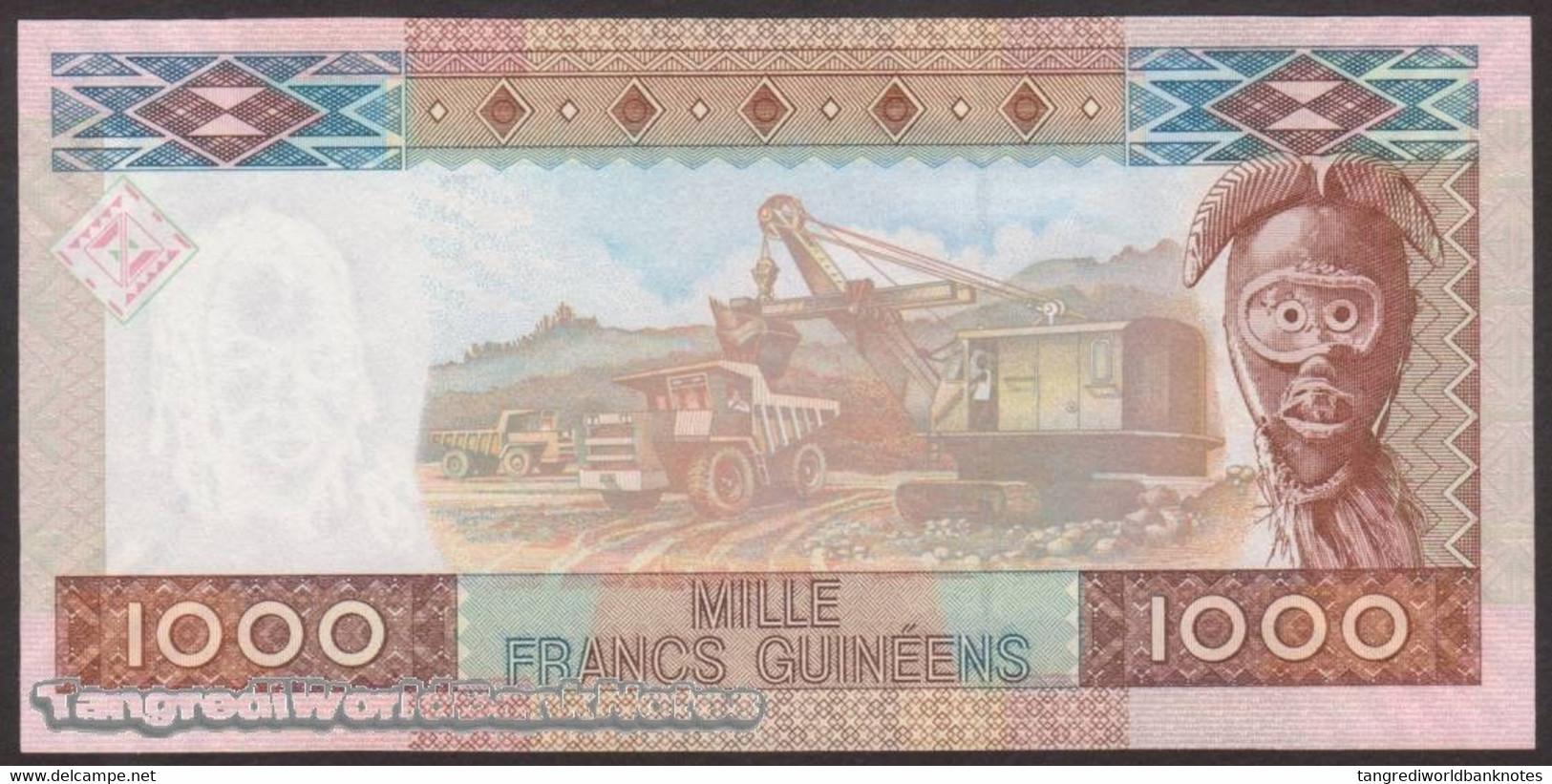 TWN - GUINEA 40 - 1000 1.000 Francs 2006 Prefix BU UNC - Guinée