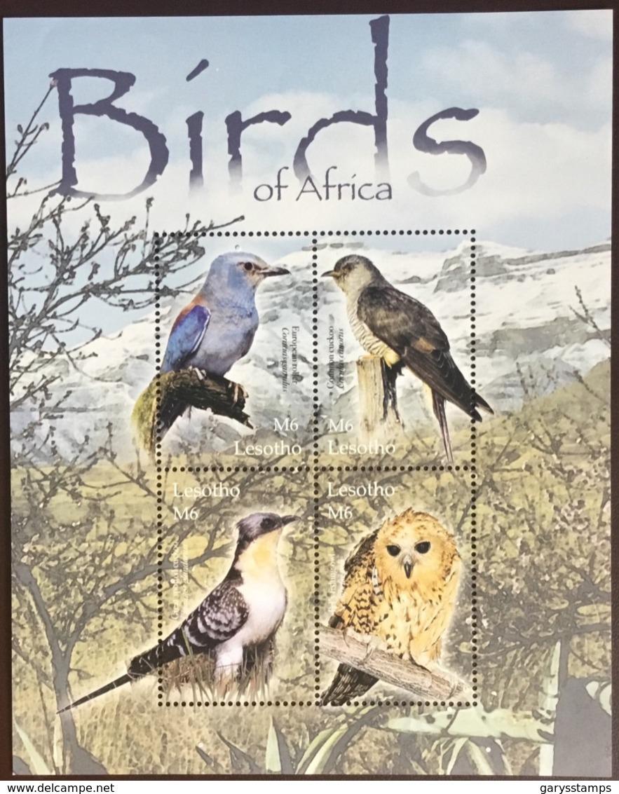 Lesotho 2004 Birds Sheetlet MNH - Vögel