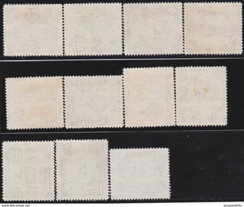 Cyprus     .    SG     .    133/143  (2 Scans)    .     O     .  Gebruikt    .     /    .    Cancelled - Cyprus (...-1960)