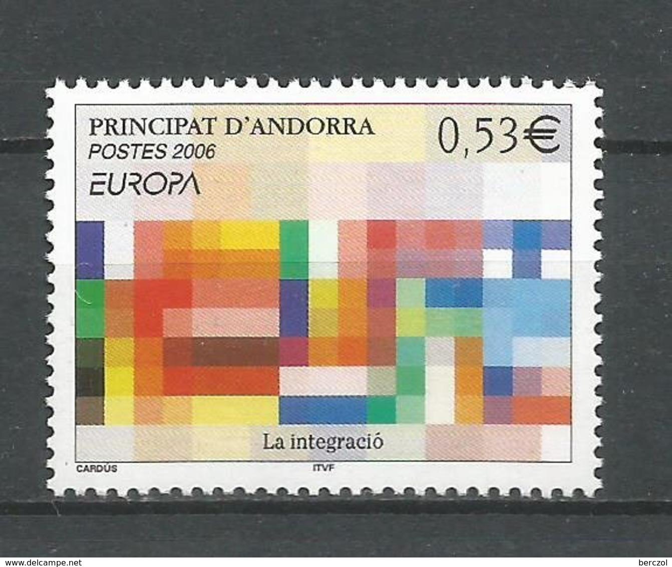 ANDORRE 2006 N° 627 NEUFS** - French Andorra