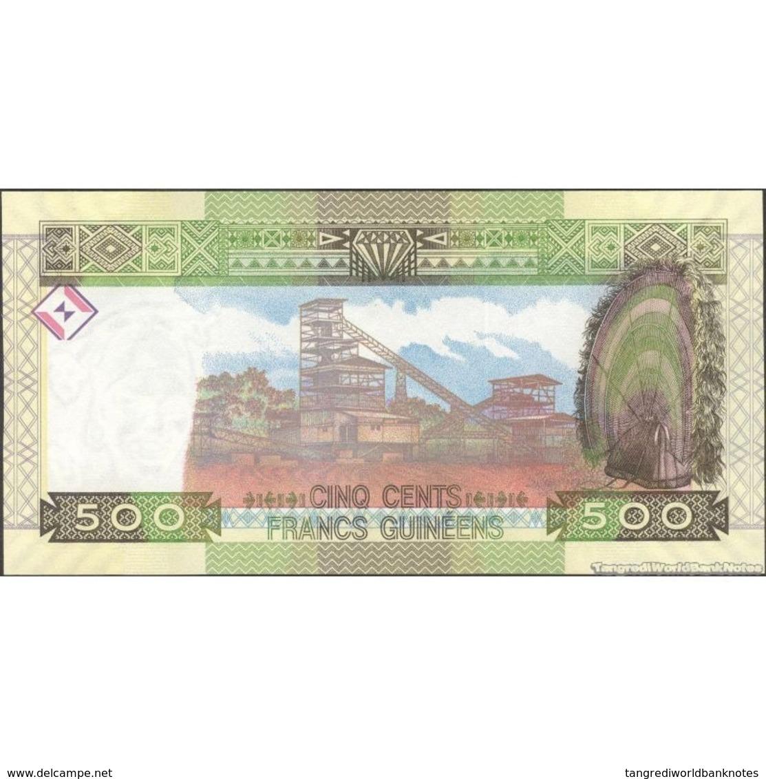 TWN - GUINEA 47 - 500 Francs 2015 Prefix QL UNC - Guinea