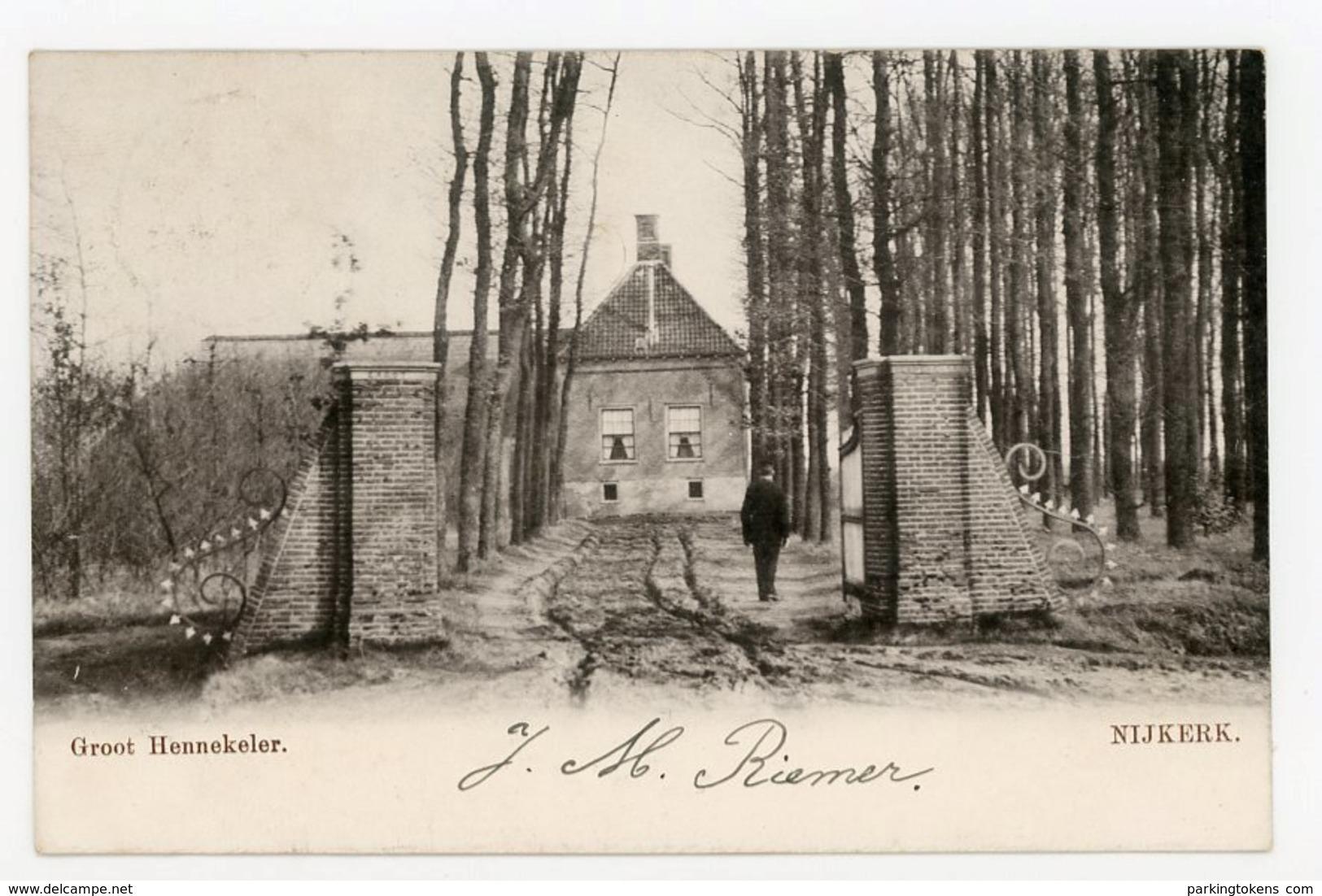 D216 - Nijkerk - Groot Hennekeler - Voor 1906 - - Nederland