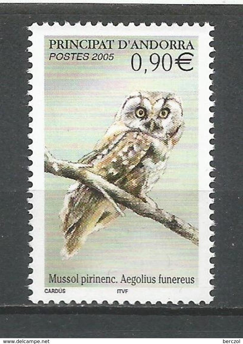 ANDORRE 2005 N° 607 NEUF** - French Andorra