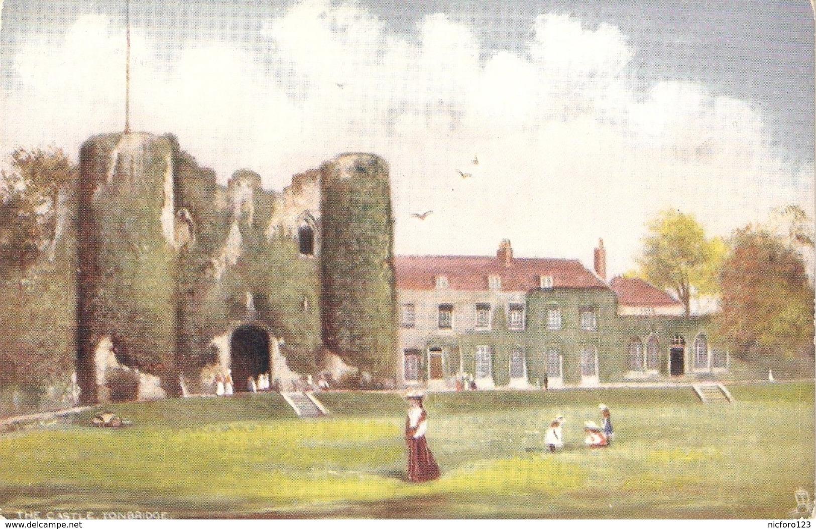 """Tonbridge. The Castle"" Tuck Oilette Postcard # 7182 - Tuck, Raphael"