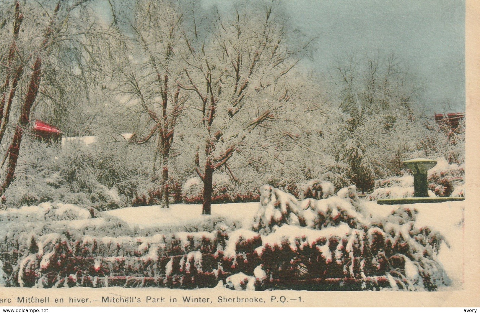 Parc Mitchell En Hiver, Sherbrooke, Quebec Mitchell Park In Winter - Sherbrooke