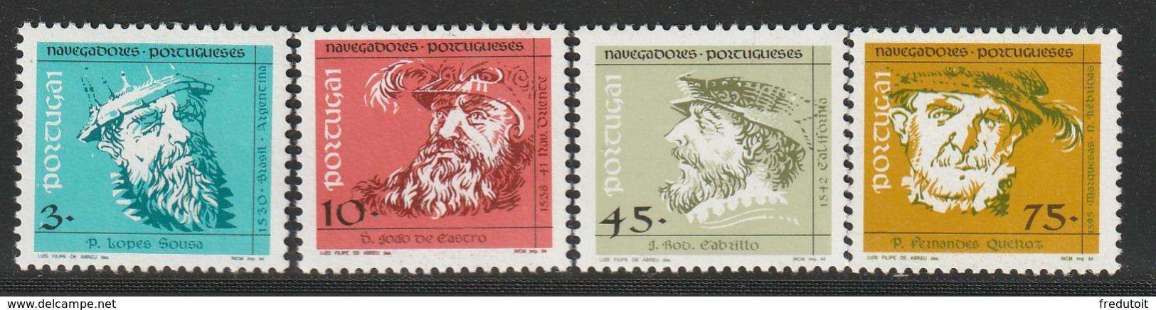 PORTUGAL - N° 1984/7 ** (1994) Navigateurs Portugais - 1910-... Republic