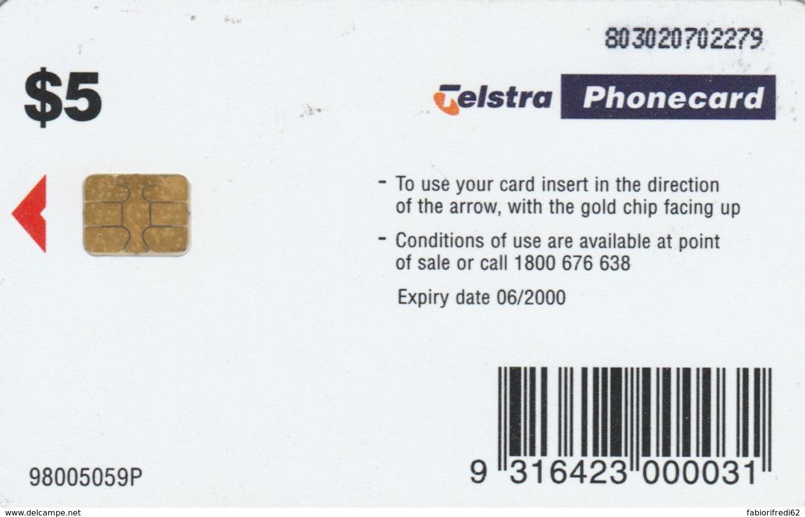 PHONE CARD AUSTRALIA (E50.16.3 - Australia