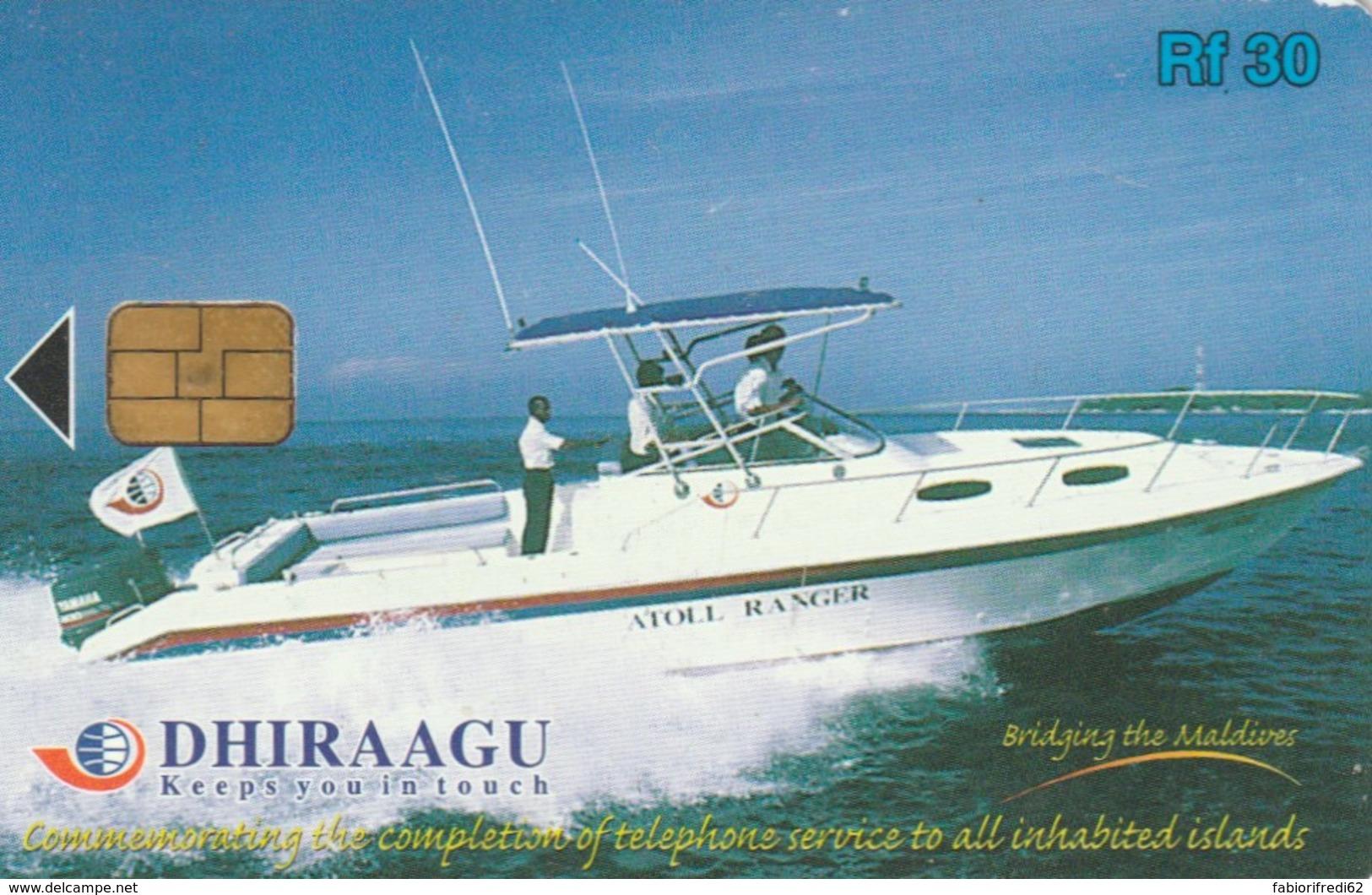 PHONE CARD MALDIVE (E50.26.7 - Maldiven