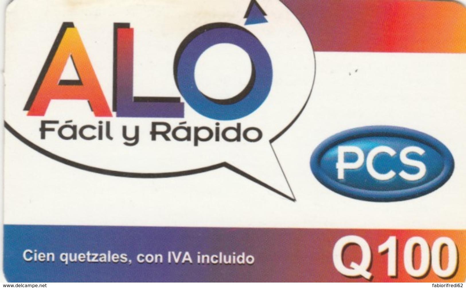 PREPAID PHONE CARD GUATEMALA (PK1196 - Guatemala