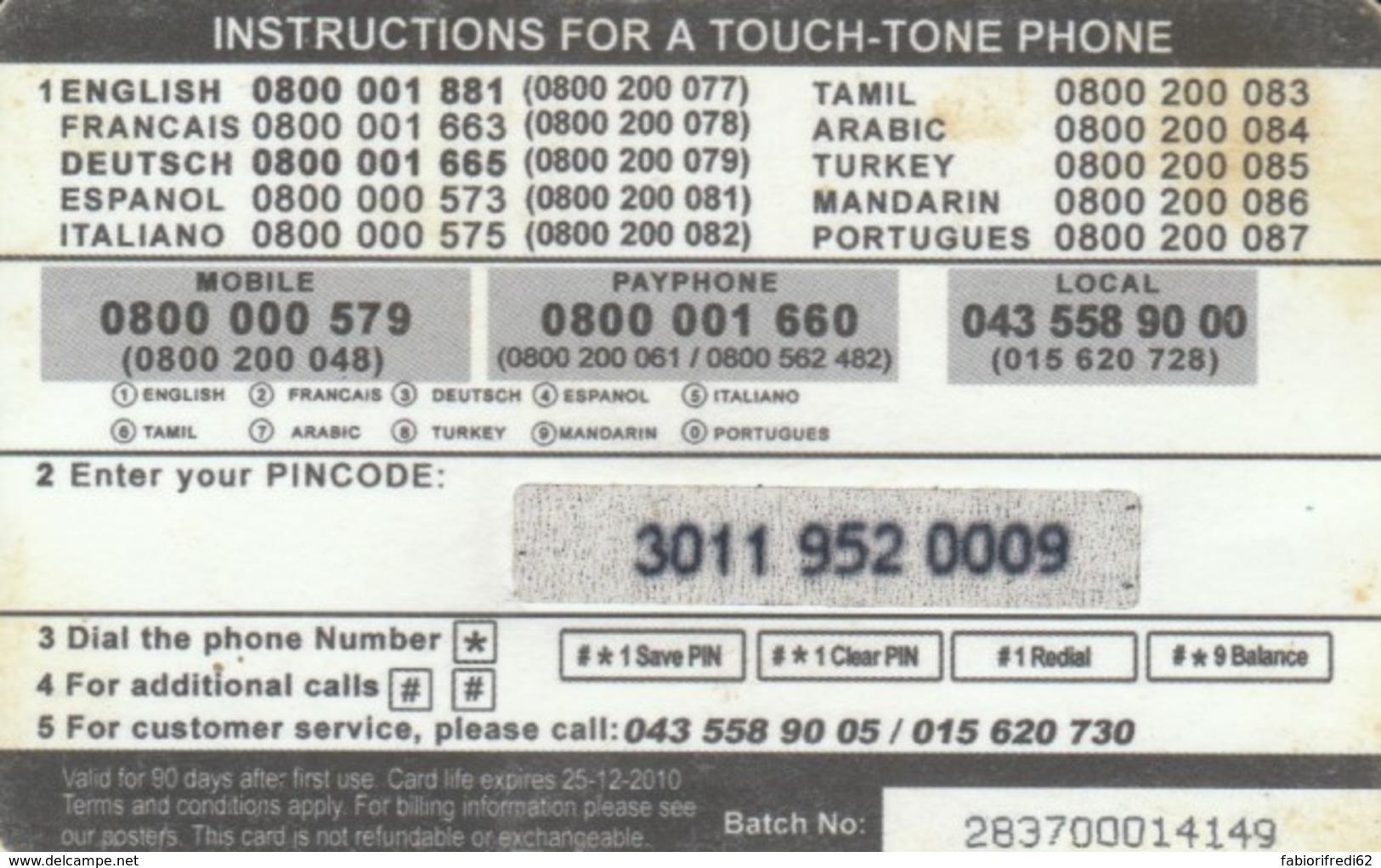 PREPAID PHONE CARD SVIZZERA (PK889 - Svizzera