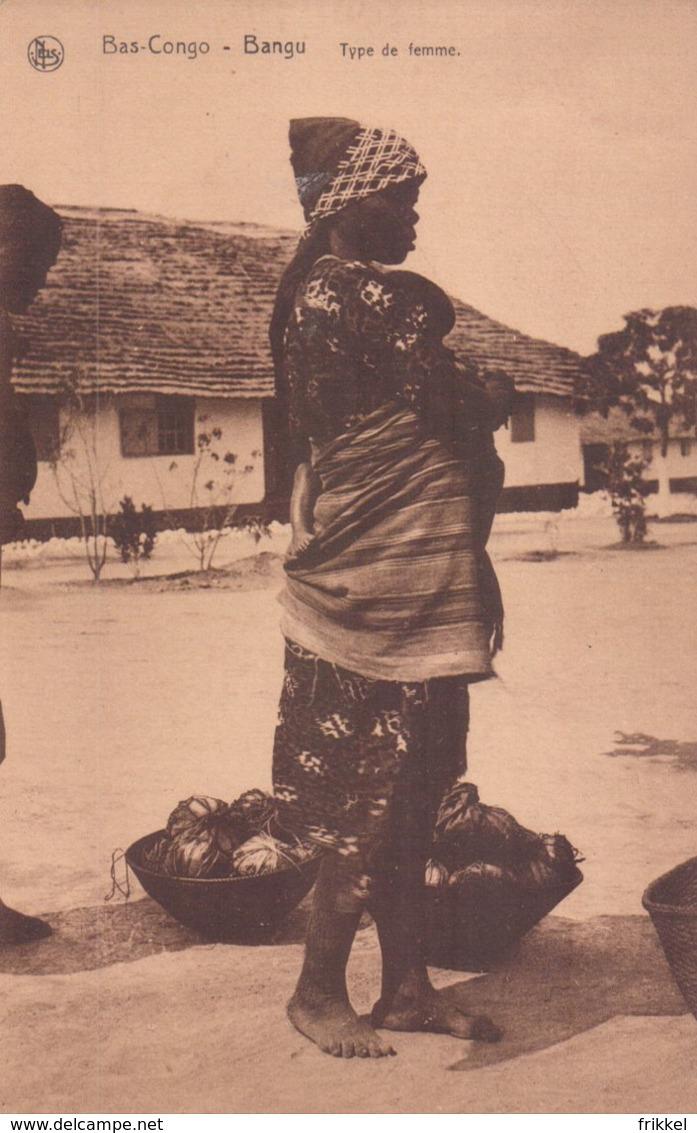 Bas-Congo Bangu Type De Femme - Belgisch-Congo - Varia