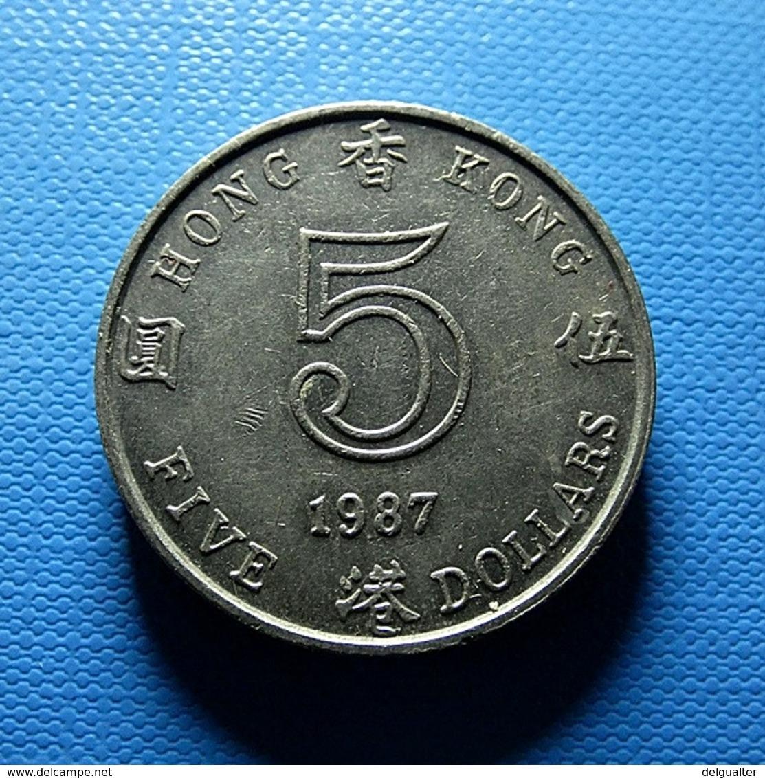 Hong Kong 5 Dollars 1987 - Hong Kong