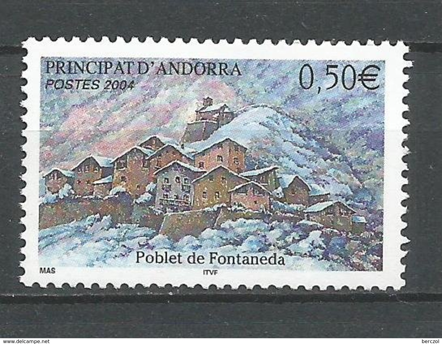 ANDORRE ANDORRA 2004 N° 597 NEUF** NMH - French Andorra