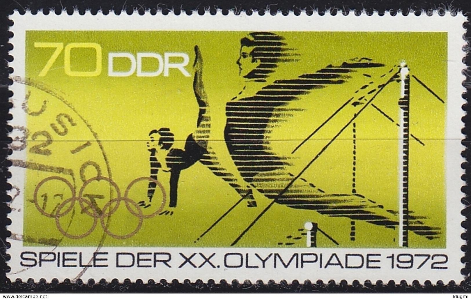GERMANY DDR [1972] MiNr 1758 ( OO/used ) Olympiade - DDR