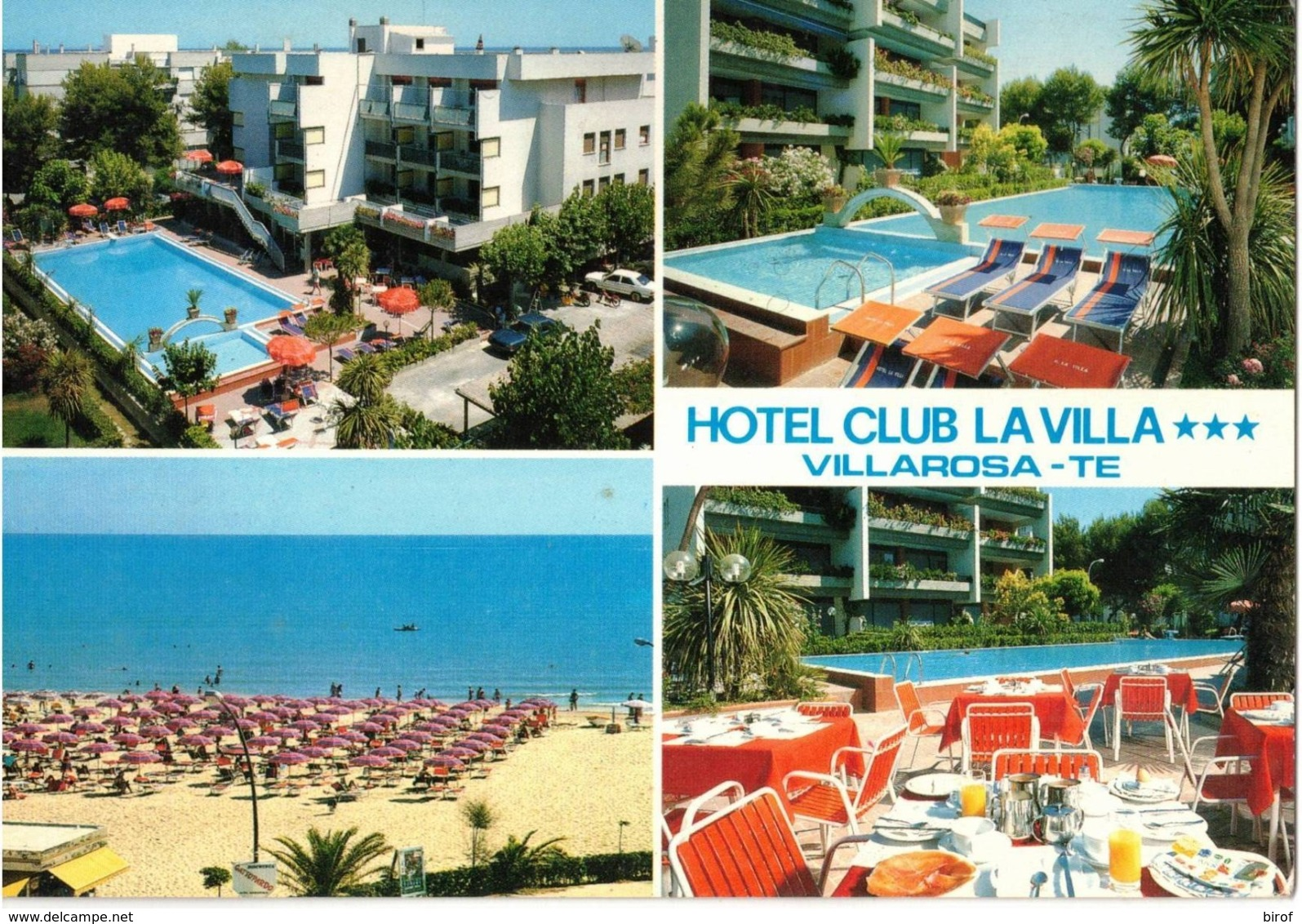 HOTEL CLUB LA VILLA - VILLAROSA DI MARTINSCURO (TE) - Teramo