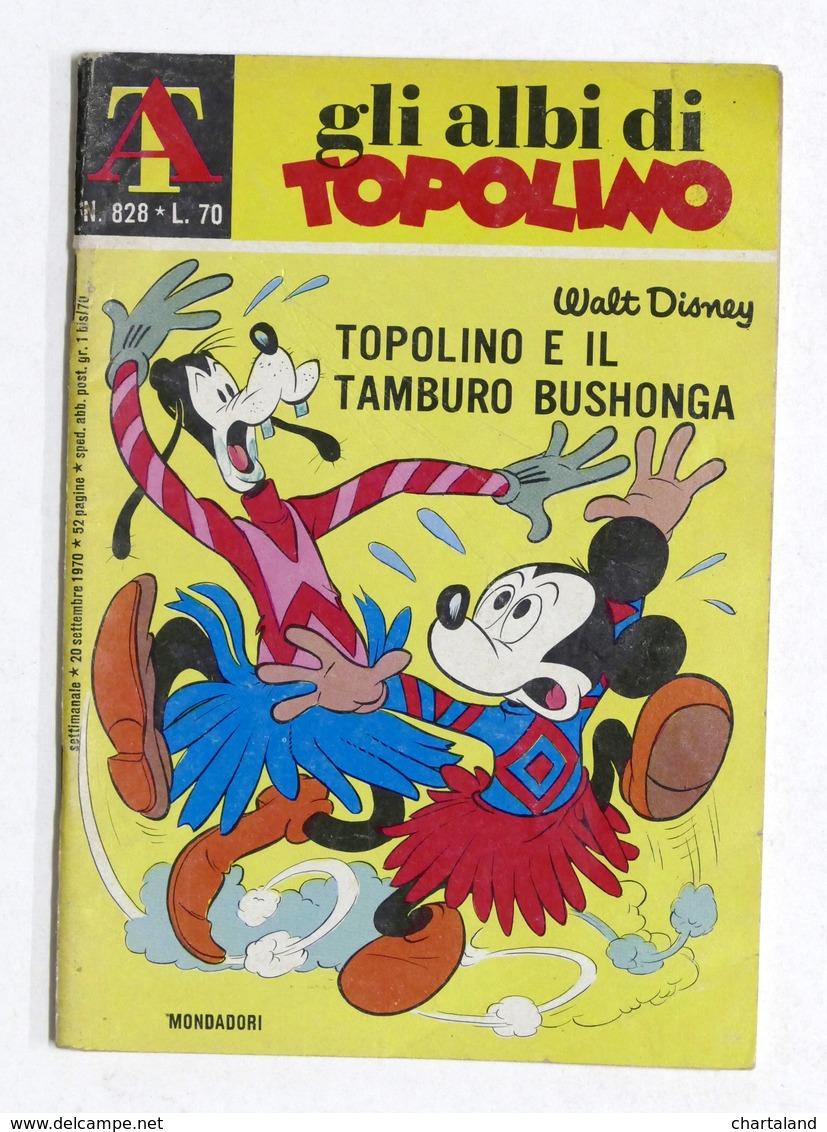 Fumetti Walt Disney - Gli Albi Di Topolino - N. 828 - Settembre 1970 - Books, Magazines, Comics
