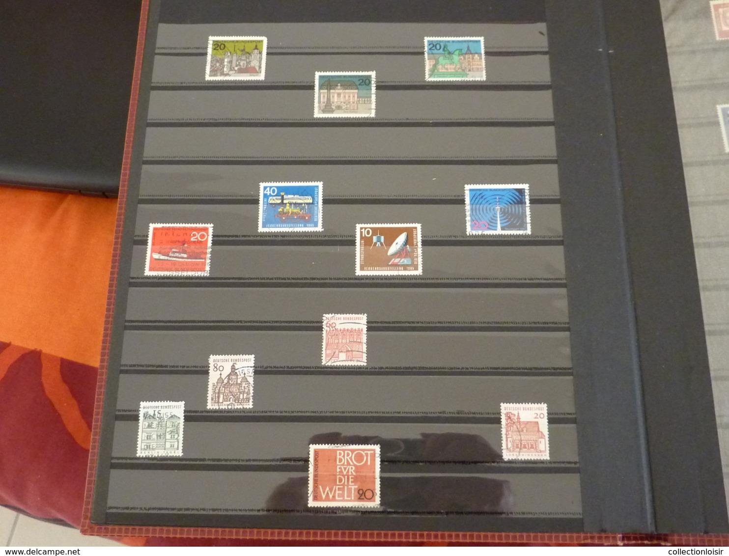 ALBUM CONTENANT 310 TIMBRES DE FRANCE ET DU MONDE ( 51 Photos ) - Briefmarken