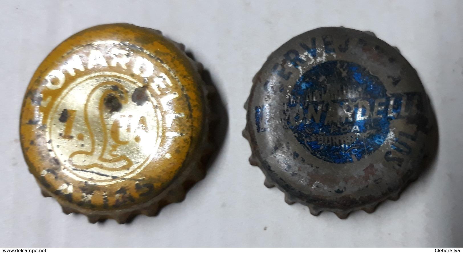 Brazil Bottle Caps Beer, Chapa De Botella De Ceveza - LEONARDELLI - Other