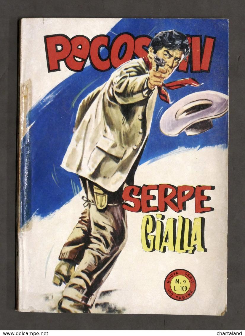 Fumetti - Pecos Bill - N. 9 - Novembre 1965 - Serpe Gialla - Boeken, Tijdschriften, Stripverhalen