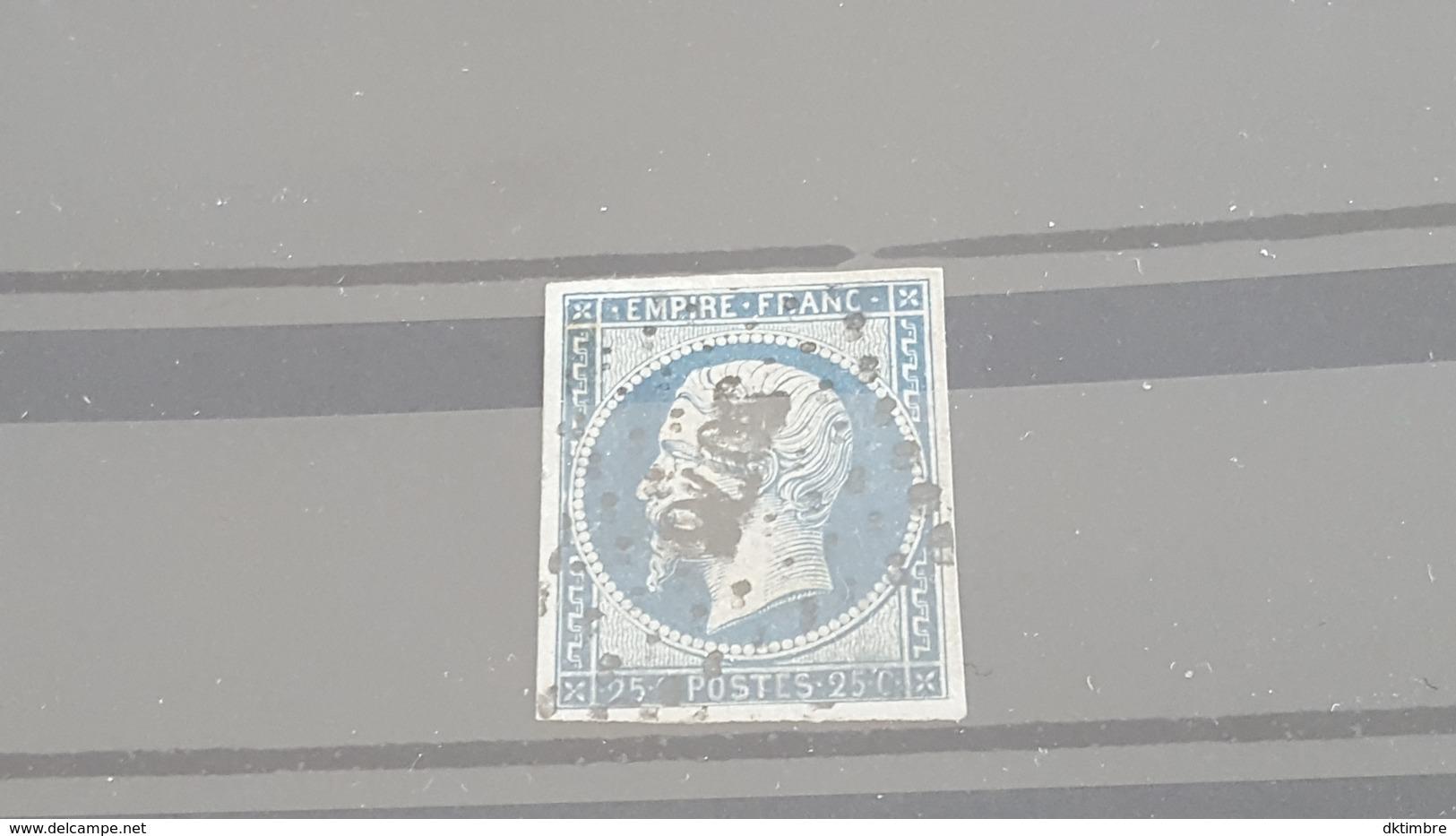 LOT 472916 TIMBRE DE FRANCE OBLITERE N°15 - 1853-1860 Napoléon III