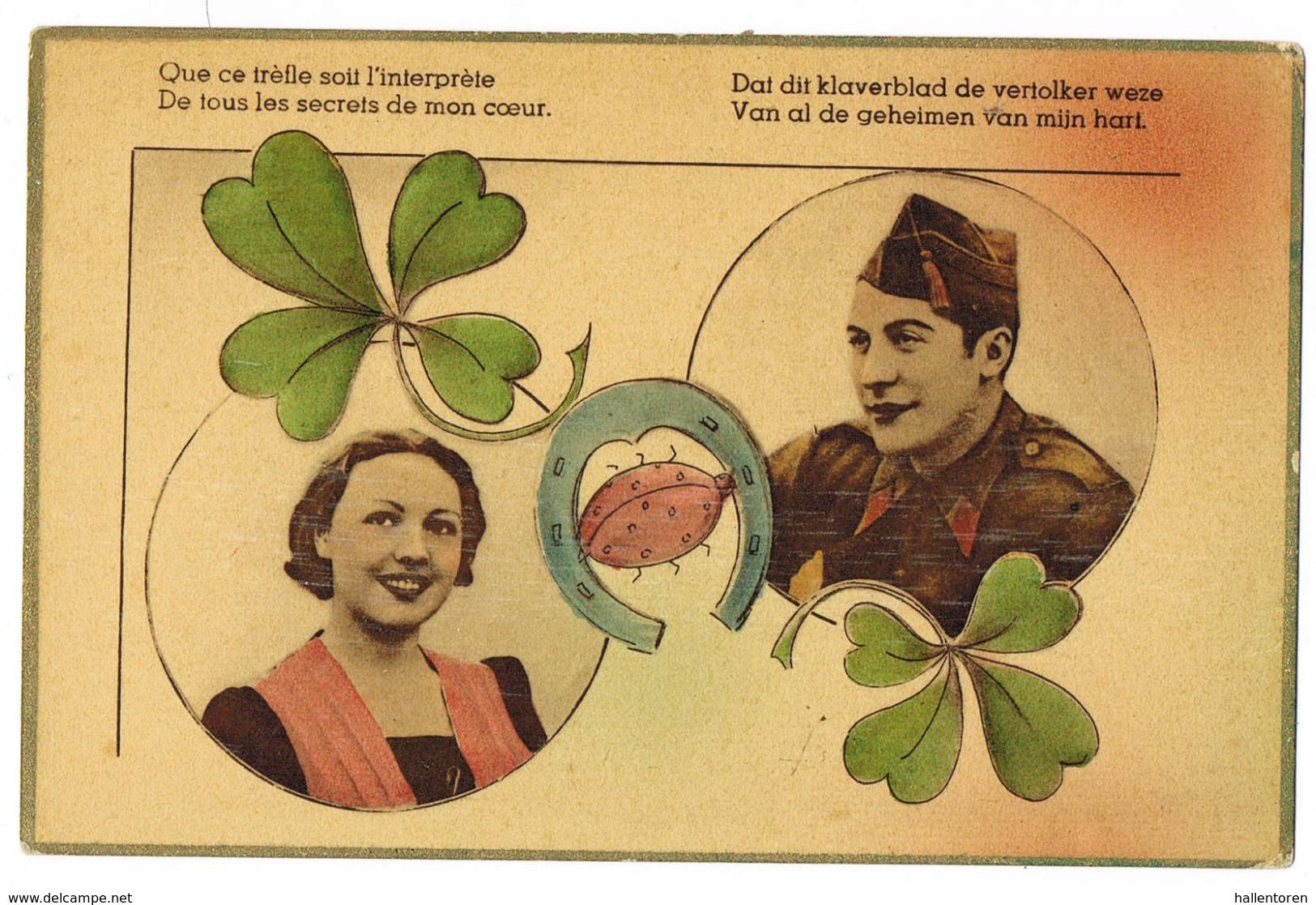 Que Ce Trèfle Soit L'interprète ... - War 1914-18