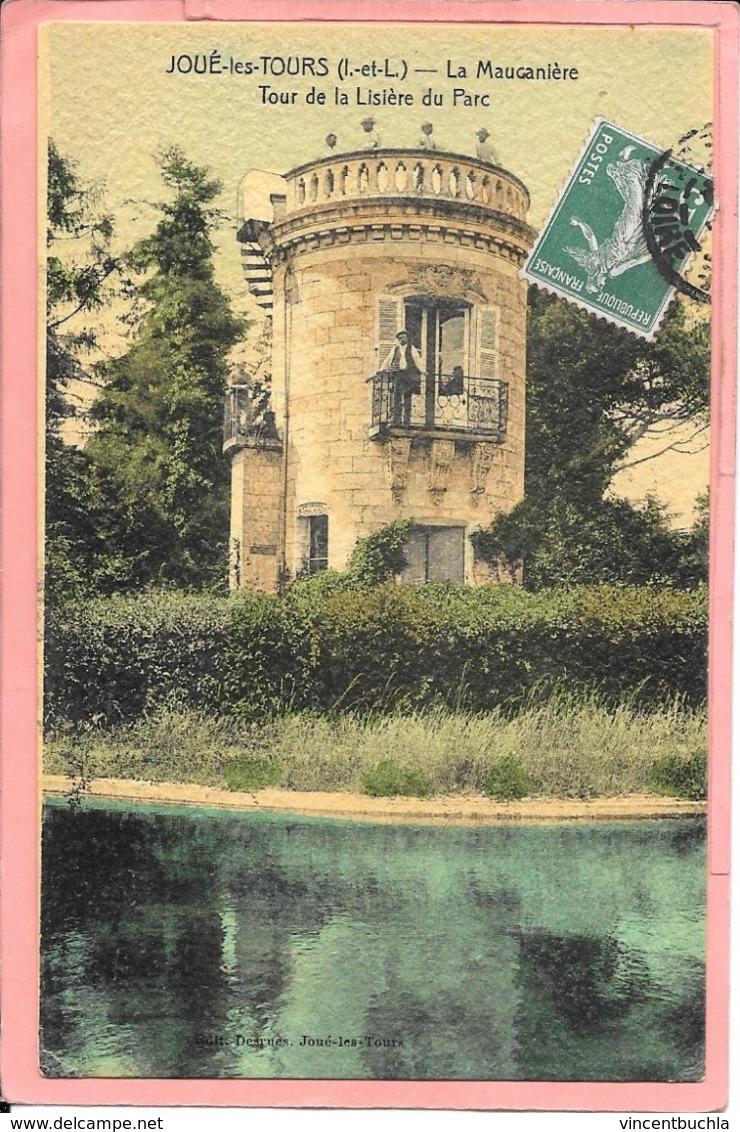 Joué Les Tours  - La Maucanière Tour De La Lisière Du Parc Colorisée - Frankreich