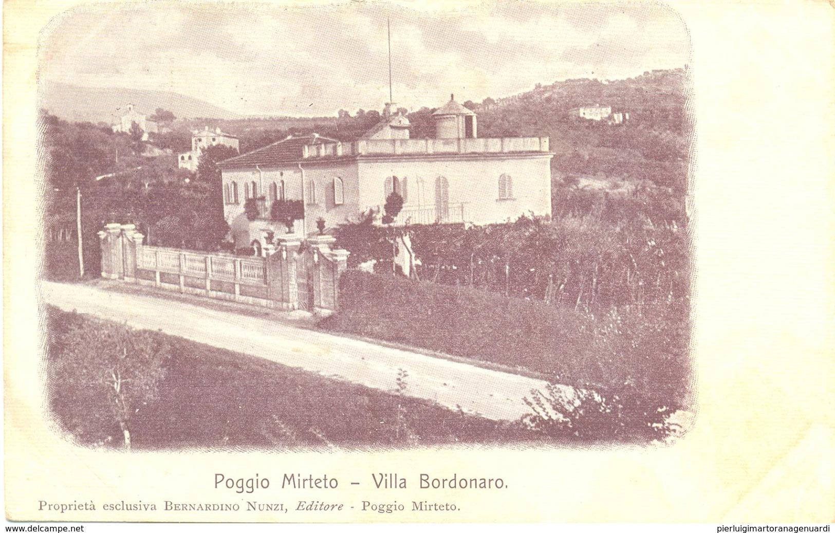 13143 - Poggio Mirteto - Villa Bordonaro ( Rieti) F - Rieti