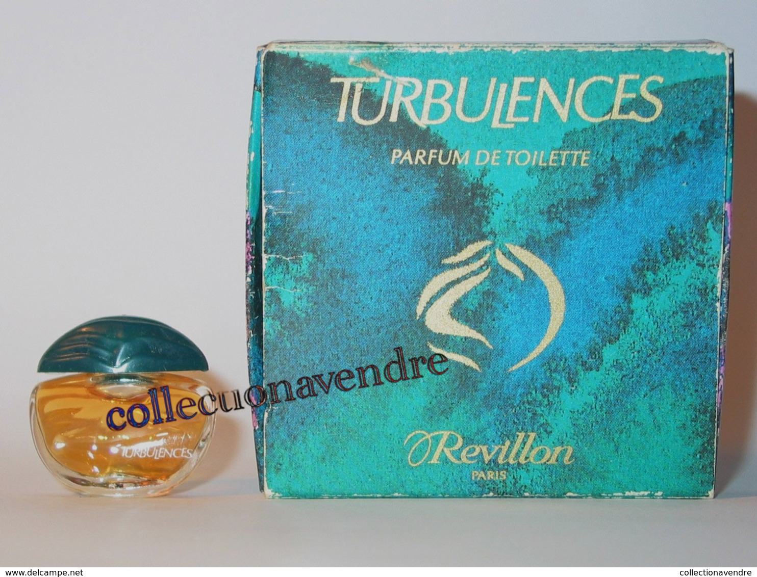 REVILLON : Miniature De Collection. Turbulences.  Parfum De Toilette 2 Ml. - Miniatures Modernes (à Partir De 1961)