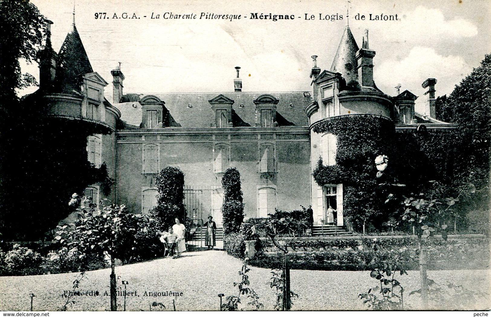 N°75868 -cpa Mérignac -le Logis De Lafont- - France