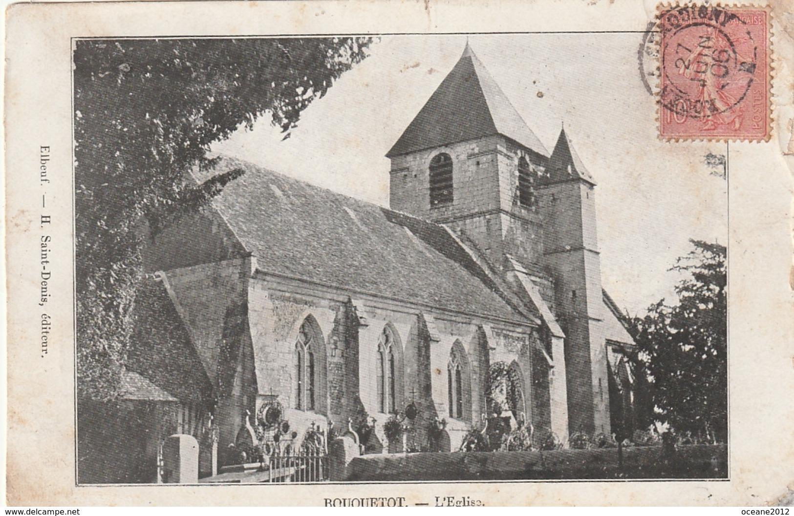 27 Bouquetot. L'eglise - Other Municipalities