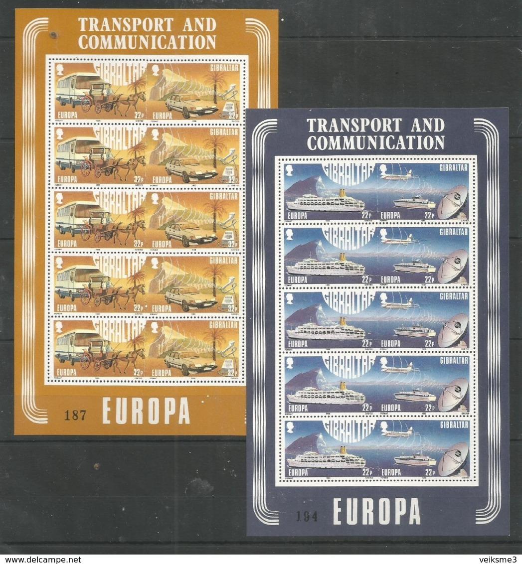 GIBRALTAR - MNH - Europa-CEPT - Transport - 1988 - Europa-CEPT