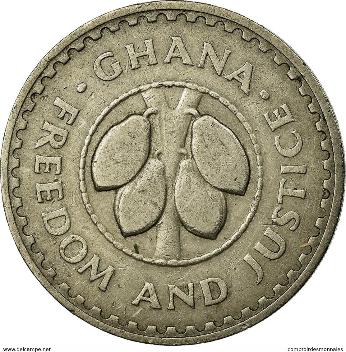 Monnaie, Ghana, 20 Pesewas, 1967, TTB, Copper-nickel, KM:17 - Ghana