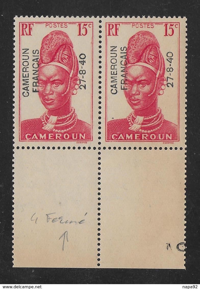 CAMEROUN 1940 YT 213** - VARIÉTÉS - Kameroen (1915-1959)
