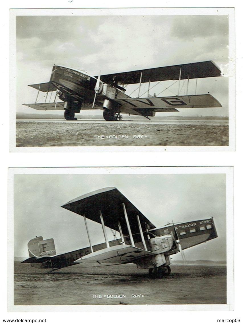 THE GOLDEN RAY LIORE ET OLIVIER 2 CP Avion Avec Moteurs Renault - 1919-1938: Entre Guerres