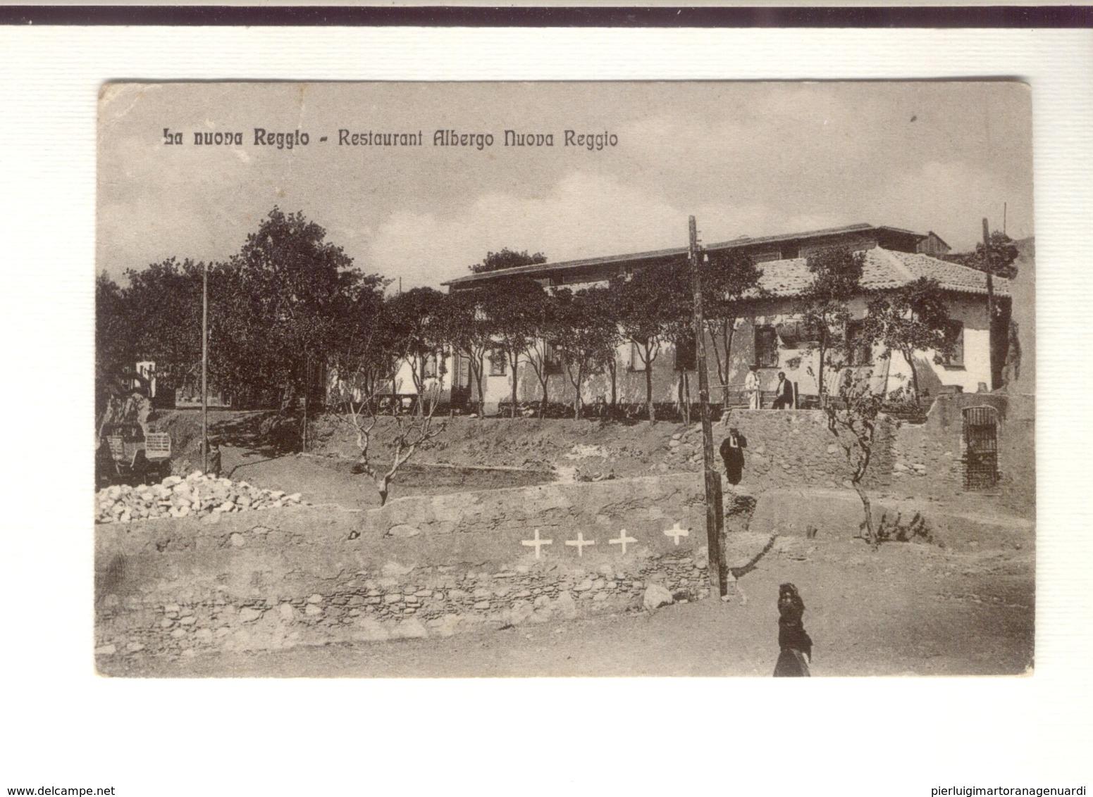 12211 - Reggio Calabria - La Nuova Reggio - Restaurant Albergo Nuova Reggio - Reggio Calabria