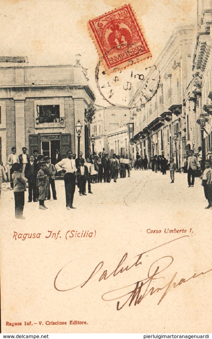 12670 - Ragusa - Corso Umberto I F - Ragusa
