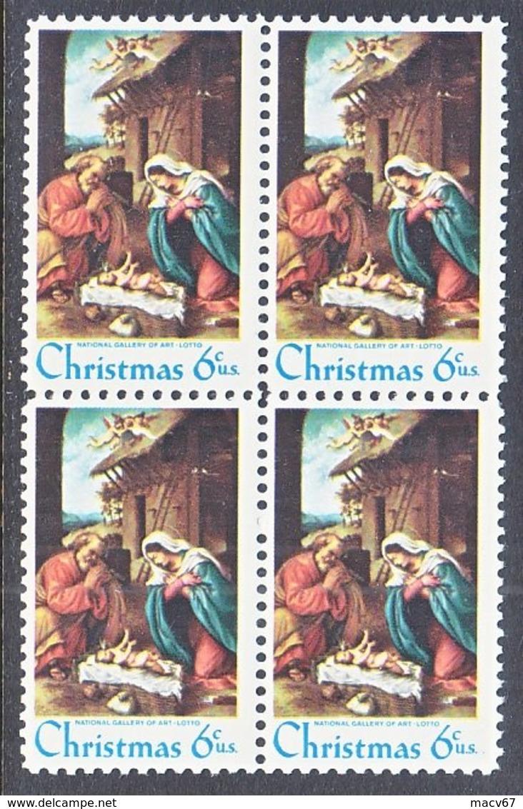 U.S. 1414 D  Type  II     **  MADONNA  By  LOTTO - Christmas