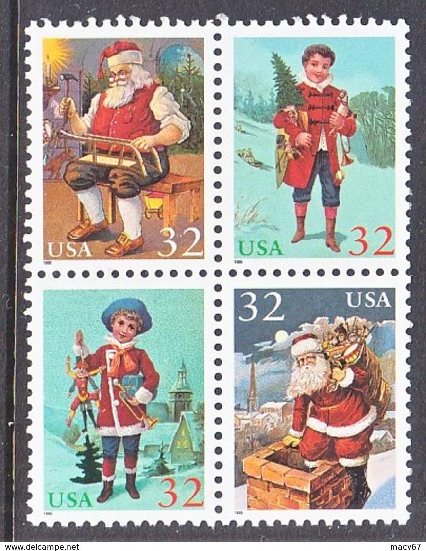U.S. 3007 A   **     CHRISTMAS   SANTA - Christmas