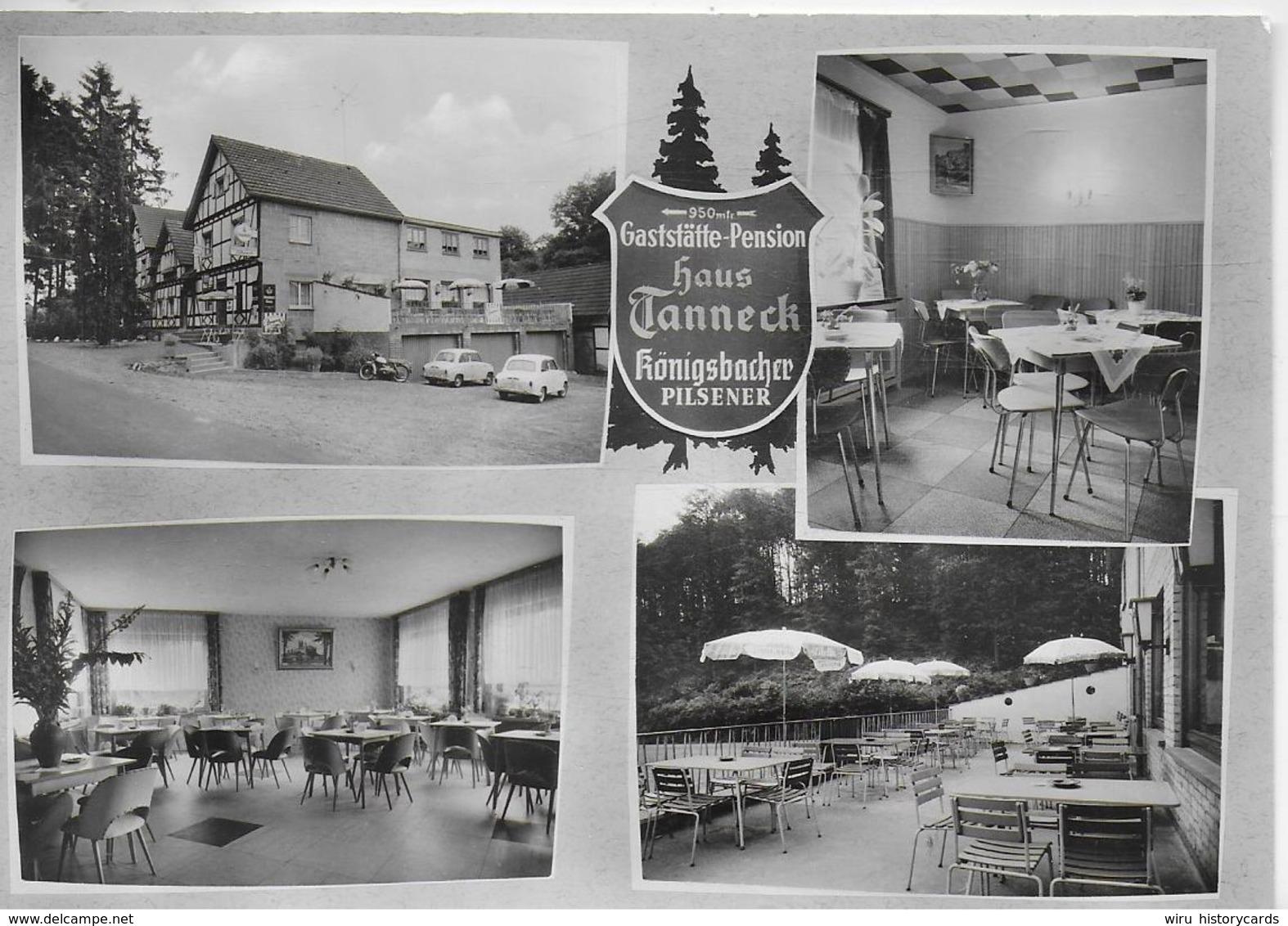 AK 0324  Gaststätte-Pension Haus Tanneck über Siegburg Um 1960 - Siegburg