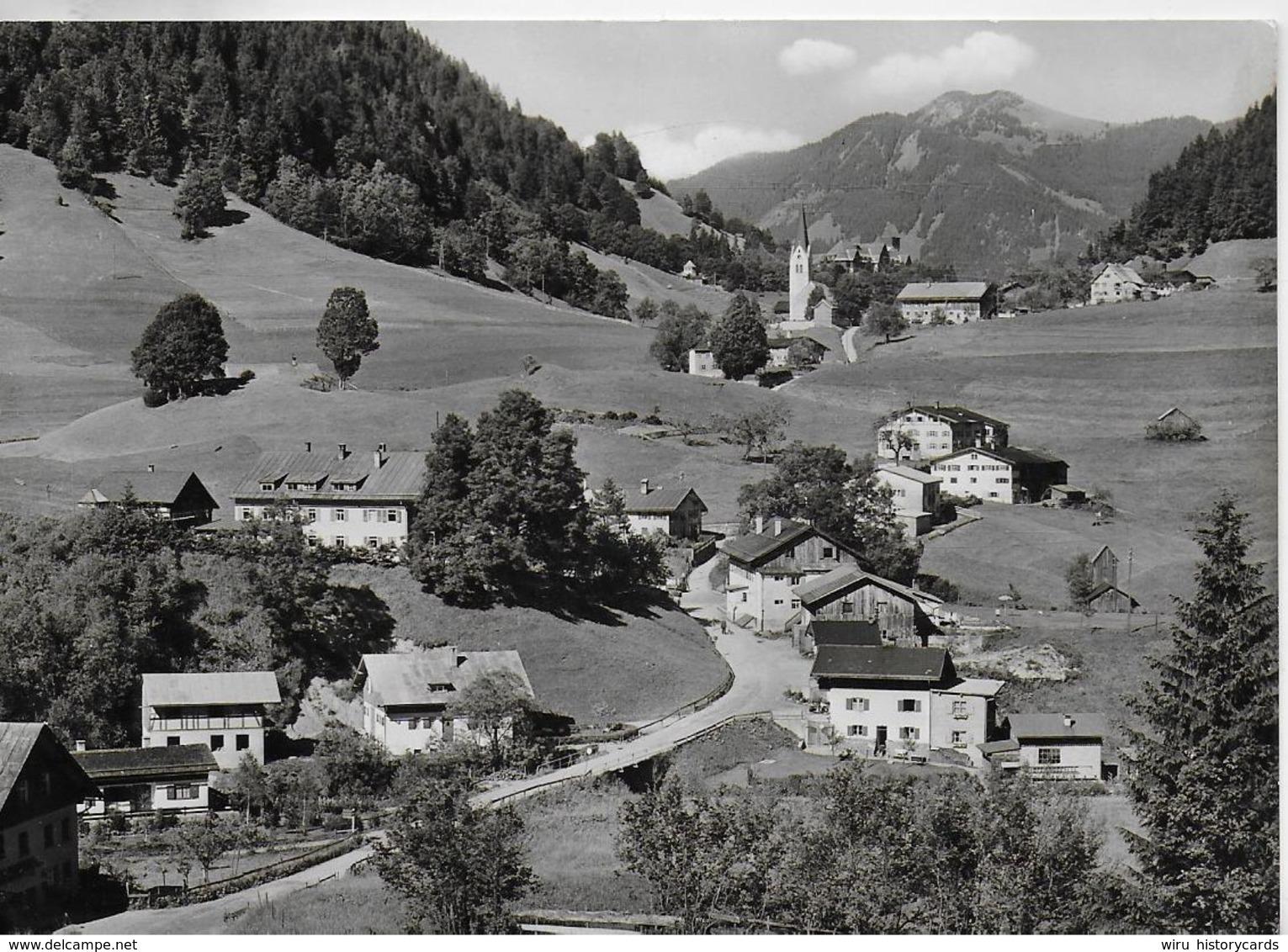 AK 0324  Tiefenbach Bei Oberstdorf - Verlag Ruminy Um 1960 - Oberstdorf