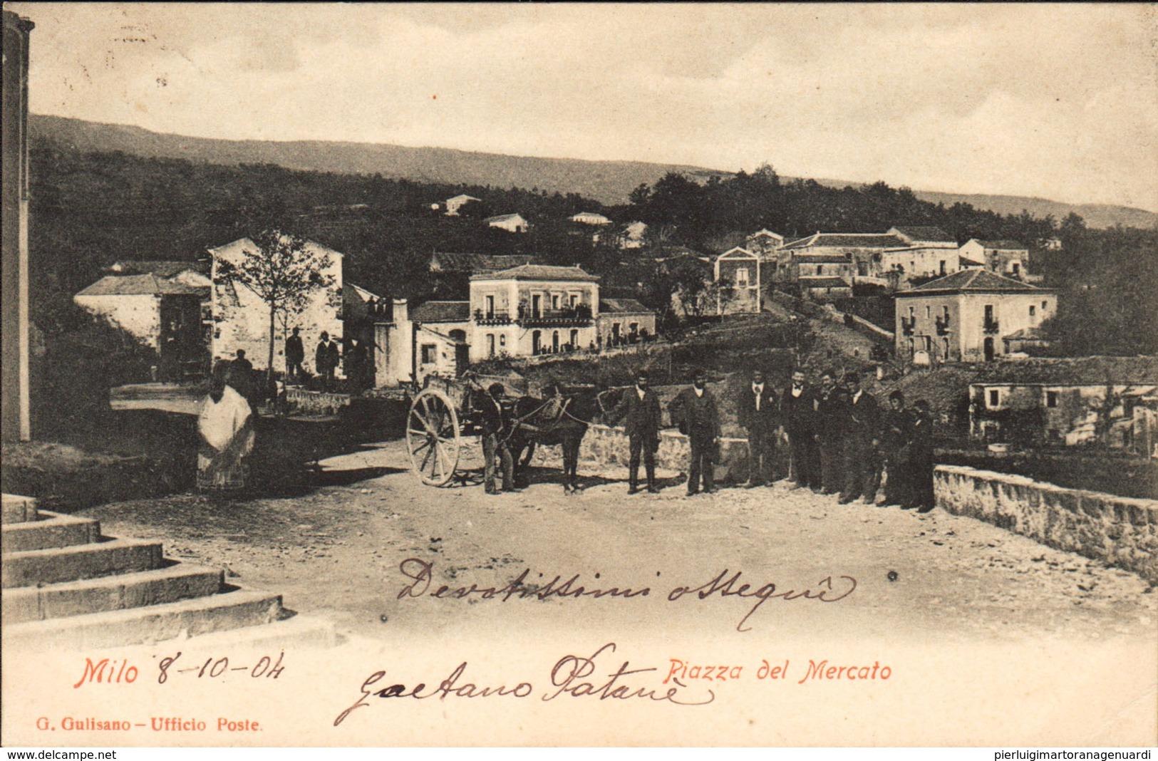 12474 - Milo - Piazza Del Mercato F - Catania
