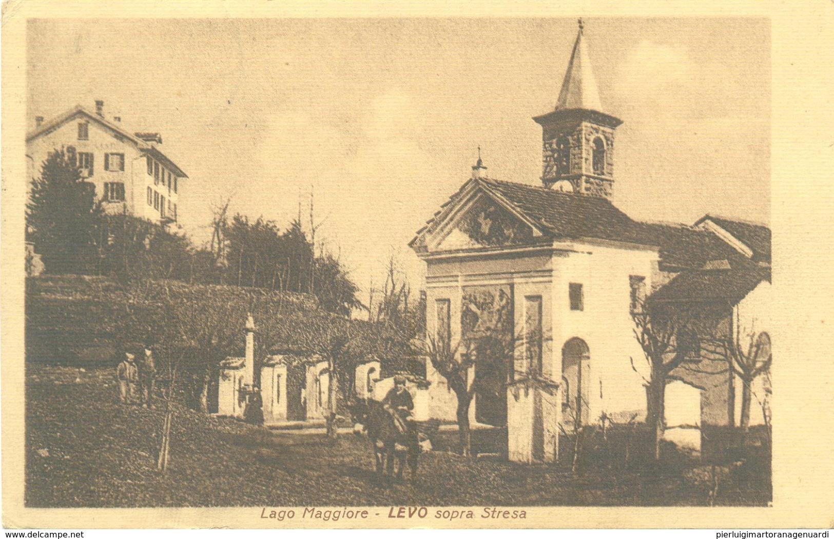 12963 - Levo Sopra Stresa - Lago Maggiore F - Verbania