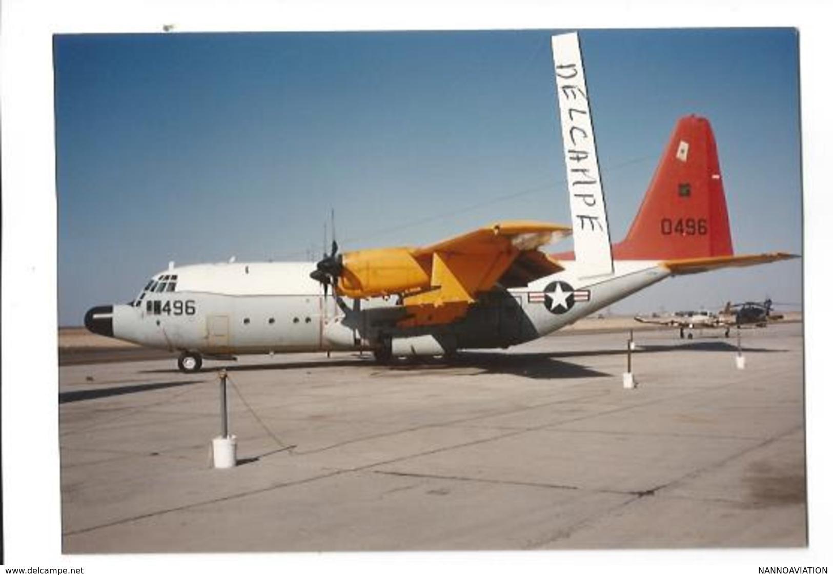 PHOTO AVION LOCKHEED HERCULES  496    12X8CM - 1946-....: Era Moderna