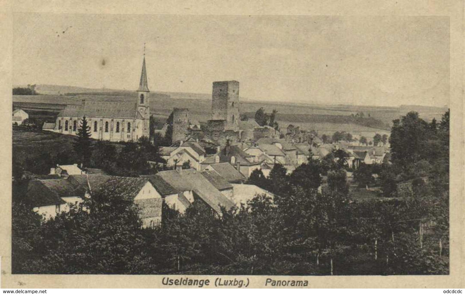 Useldange ( Luxembourg) Panorama RV  Cachet Useldange - Rodange